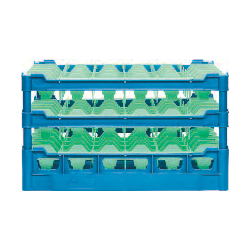 Gläserkorb Typ D3, Glashöhe: 210-290 mm für 9 Gläser ohne Schrägsteller