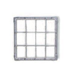 Gläserkorb Typ B,  Glashöhe bis 120 mm, 130 mm, 140 mm, 150 mm, 160 mm, 170 mm