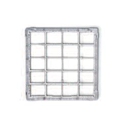 Gläserkorb für 20 Gläser, Höhe 180-240 mm